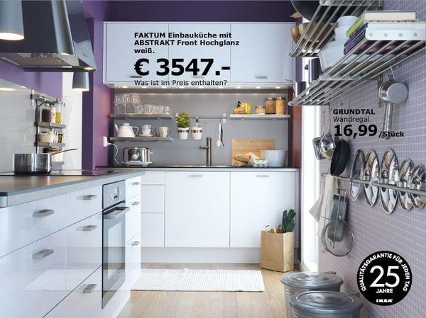 faktum kaufen / faktum gebraucht - dhd24.com - Ikea Küche Faktum Weiß Hochglanz