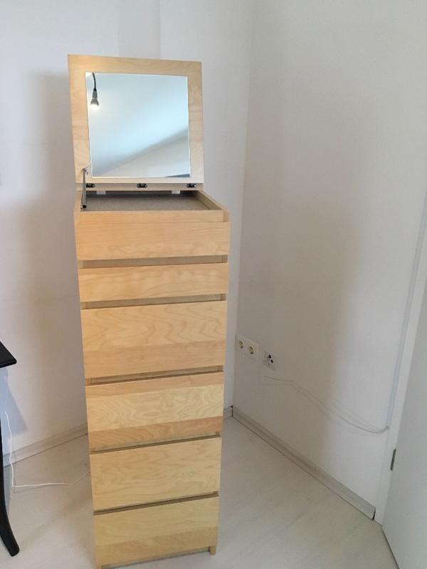 Ikea Malm Kommode mit 6 Schubladen und Spiegel in Schriesheim - IKEA-Möbel kaufen und verkaufen ...
