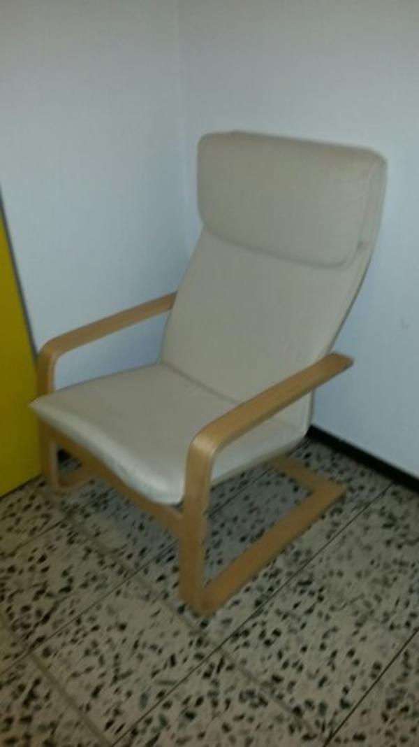 2017 Sessel Ikea Weiß