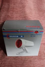 Infrarotlampe IR 100 mit Philips