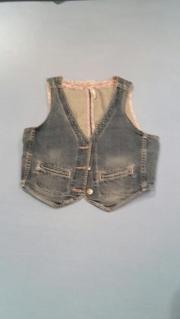 Jeans-Weste, Gr.