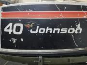 JOHNSON 40, Aussenborder