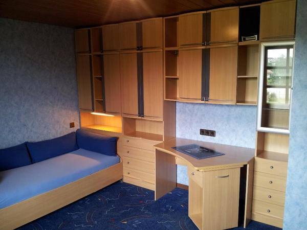 jugendzimmer vermont (buche hell) - top zustand - in eppingen