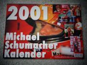 Kalender Michael Schumacher 2001 und