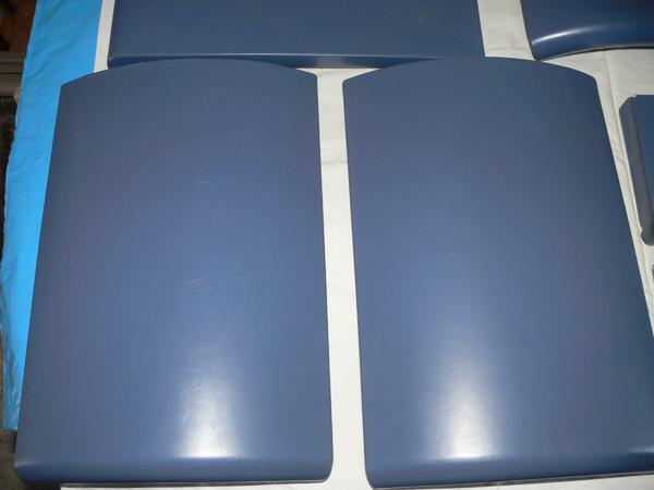 """Kaminofen FIREPLACE * blauer Kachelofen * LACARNA * 9 KW * TEE-/ BACKFACH * Glasplatte, Rohre - Karlsruhe - LACARNA FIREPLACE, mit den blauen Keramikkacheln """"Ozean"""", mit Teefach / Backfach. H: 109 cm T: 47cm, B: 63 cm, Gewicht 209 kg. Mit 9 kw sehr leistungsstark. War nicht allzu lange eingebaut. (ca. 8 Jahre, Kauf in 2000). Steht in trockenem Kelle - Karlsruhe"""