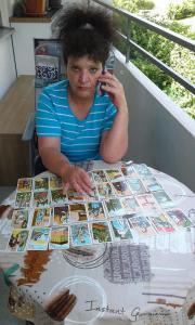 Kartenlegen per Telefon