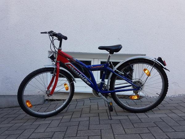 Kinderfahrrad - Heilbronn Biberach - Ich verkaufe ein rot-blaues Konbike Fahrrad für Kinder. - Heilbronn Biberach