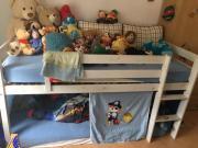 Kinderhochbett Rutsche - Haushalt & Möbel - gebraucht und neu ... | {Kinderhochbett mit rutsche 92}
