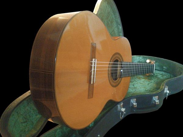 Klassische Konzertgitarre, Meistergitarre von Gernot Wagner in ...