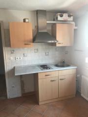 Kleine Einbauküche
