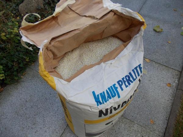 Knauf Perlite Ausgleichsschüttung » Sonstiges Material für den Hausbau