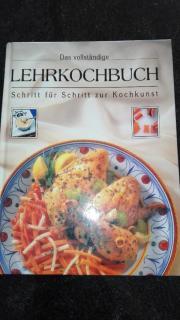 Kochbuch, Lehrkochbuch, Kochen,