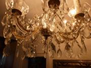Kristalllüster antik Lampe Lüster Leuchter