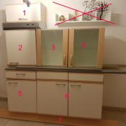Küchenmöbel inkl. Herd+