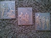Kupferbilder Kupferstich Kupferrelief