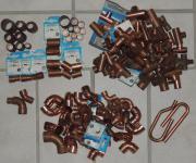 Kupferbögen, T-Stücke