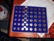 Kursmünzen Satz Deutschland 2002 A
