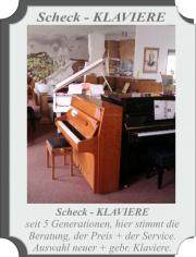Lagerverkauf Klaviere radikal reduziert