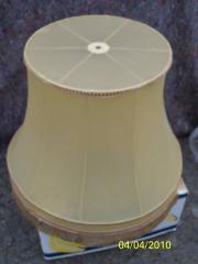Lampenschirm aus Kunststoff mit feiner