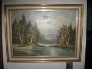 Landschaftsbild Oelbild