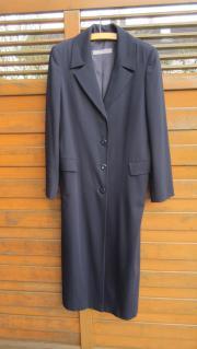 langer dunkelblauer Mantel Gr 36