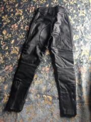 Lederhose schwarz Sehr