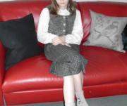 Mädchenkleid mit Bluse WIE NEU