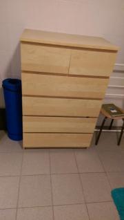 malm kommode mit 6 schubladen - haushalt & möbel - gebraucht und, Deko ideen