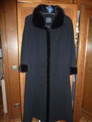 Mantel schwarz, sehr