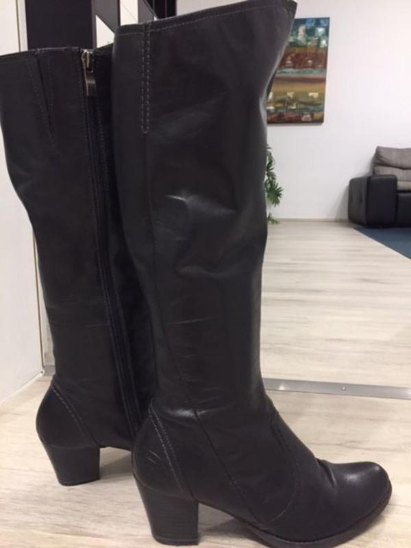 Almwerk Damen Winter Stiefel Boots Kurzschaft aus Echtleder