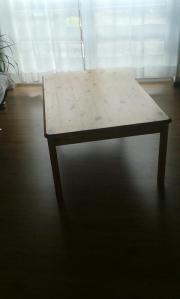 Masiver Fichtenholztisch