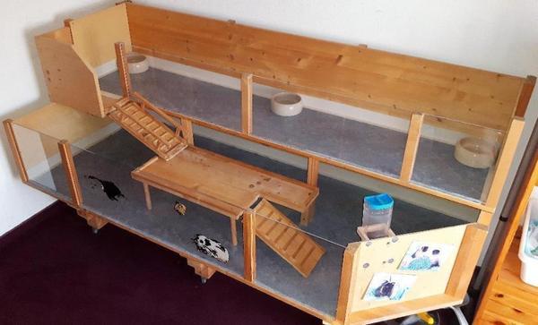 meerschweinchenstall eigenbau zu verkaufen in nu dorf. Black Bedroom Furniture Sets. Home Design Ideas