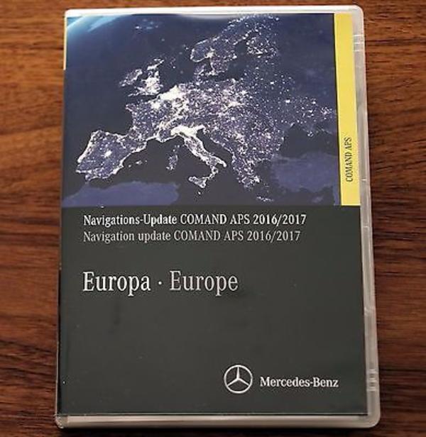 Mercedes-Benz COMAND,APS,NTG2.5,Zitrus Gelb 2016/2017 Europa-(V14.0 ...