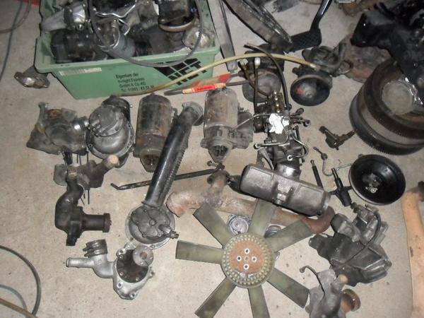 Mercedes-Benz, W123,MB100 ,240GD Motor,Schaltgetriebe,240 D 4-Gang ...