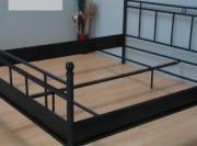 Metallbett schwarz dänisches bettenlager  Holzlattenrost 140 200 - Haushalt & Möbel - gebraucht und neu ...