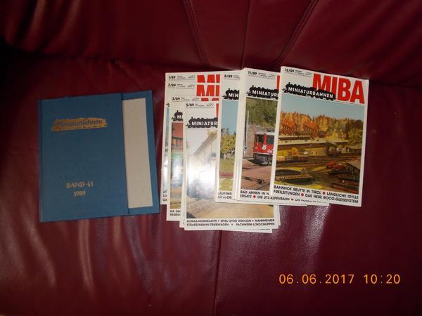 MIBA-Miniaturbahnen Band 41 kpl Jahr
