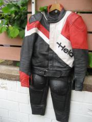 Motorradkombi Leder 2-