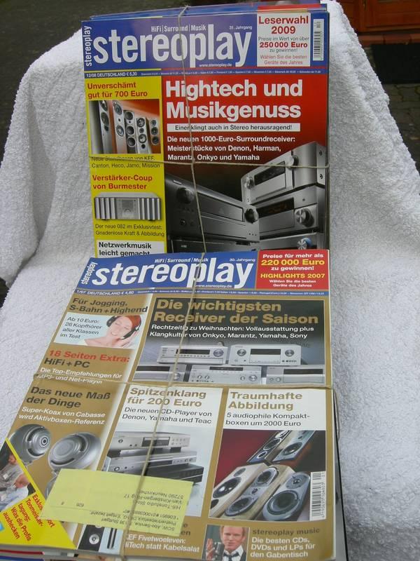 Musik- HiFi- Test - Fachzeitschriften Privatverkauf