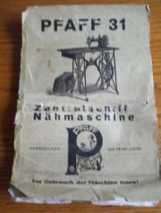 Nähmaschine - Pfaff 31