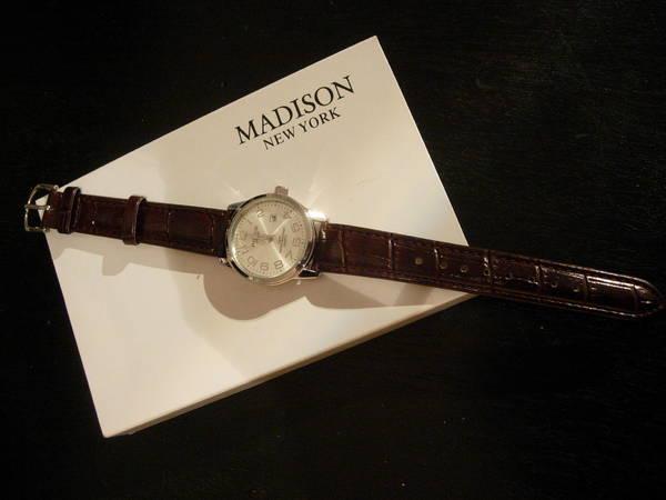 NEU - Armbanduhr Madison