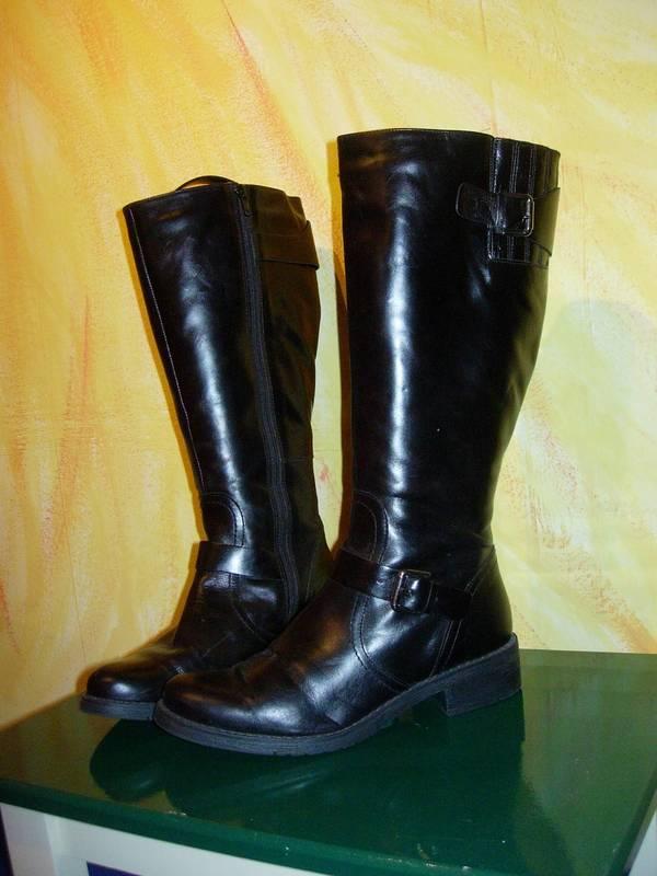 NEU - Leder-Stiefel - GR 38