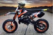 Neues Dirtbike Pocketbike