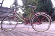 Oldtimer-Damenrad der