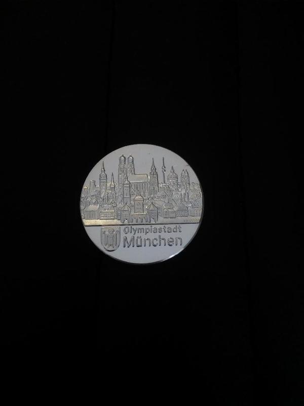 Olympia Medaille Olympiastadt München