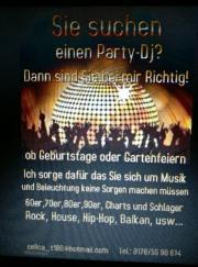 Party Dj, Geburtstage,