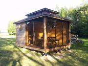 Pavilion, Gartensauna, Gartenhaus,