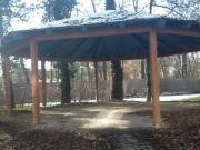 Pavillon ca8 m Durchmesser holz