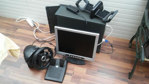 pc lenkrad schaltung gebraucht kaufen nur 3 st bis 60. Black Bedroom Furniture Sets. Home Design Ideas