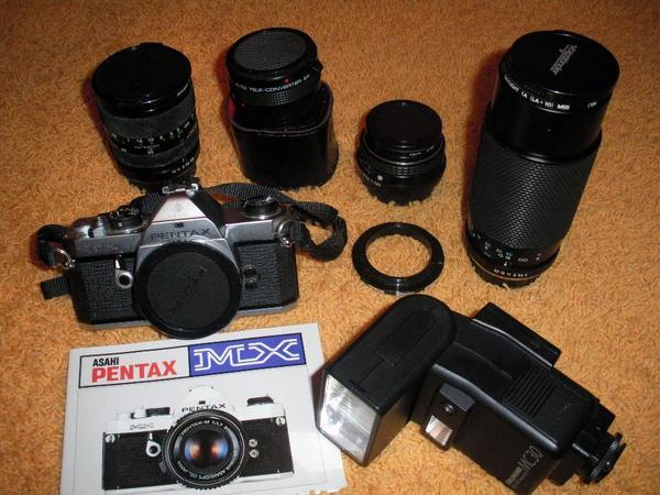 Pentax MX mit » Foto und Zubehör