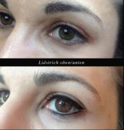 Permanent make up lidstrich pflege